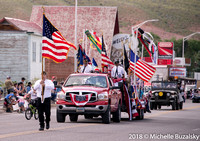 2018 July 4th Parade Dubois, WY