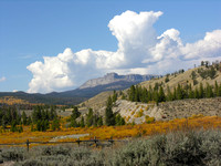 Thunderhead builds on the upper Wind River